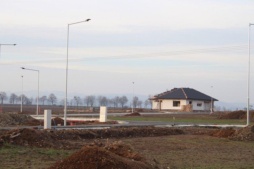 Nová čtvrť v Mohelnici