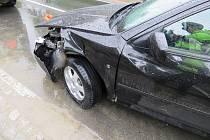 Nehoda v novém Malíně