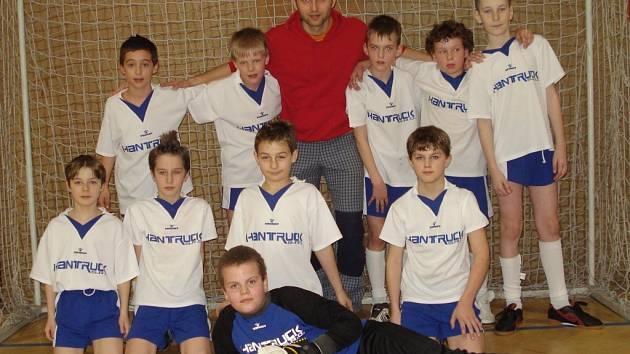 Vítěz turnaje chlapci z Javorníku