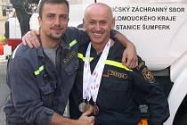 Jaromír Barcuch (vlevo).