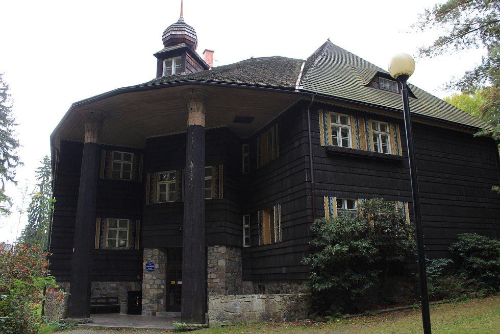 Lázně Velké Losiny - lázeňský dům Chaloupka