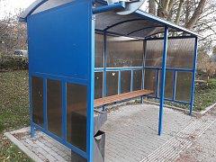 Podoba zastávky, které přibudou na autobusovém nádraží v Šumperku.