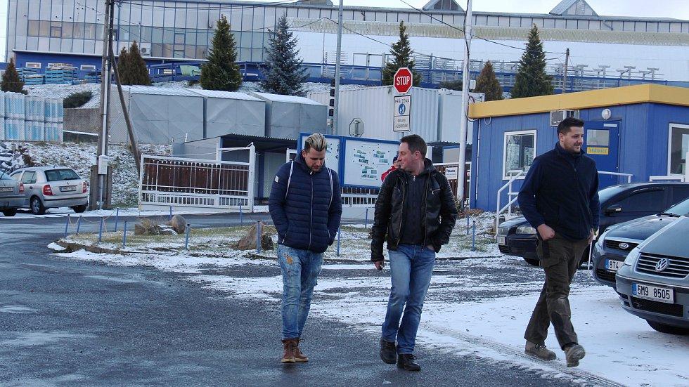 Závod Touax v Supíkovicích.