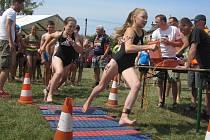 Dětský závod na na počest Eskymo Welzla v Zábřehu