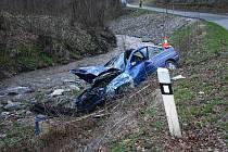 Takhle dopadl ford, který řídil osmnáctiletý řidič