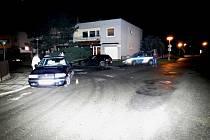 Řidič havaroval v Mohelnici, narazil do škodovky.