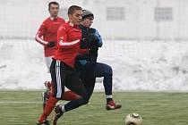 Mohelnice versus Uničov (červené dresy)