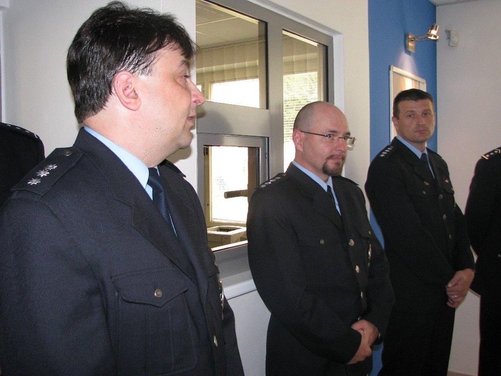 V Hanušovicích otevřeli novou policejní recepci