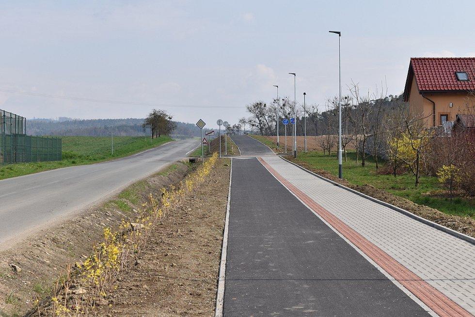 Město Úsov - cyklostezka do Klopiny