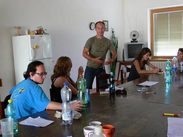 Snímek z jednoho z předchozích ročníků divadelní dílny v Šumperku.