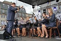 Dechový orchestr mladých Základní umělecké školy Jeseník.
