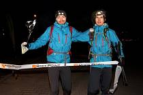 Šumpersko–frýdeckomístecká dvojice Pavel Paloncý (vlevo) a Filip Šilar.