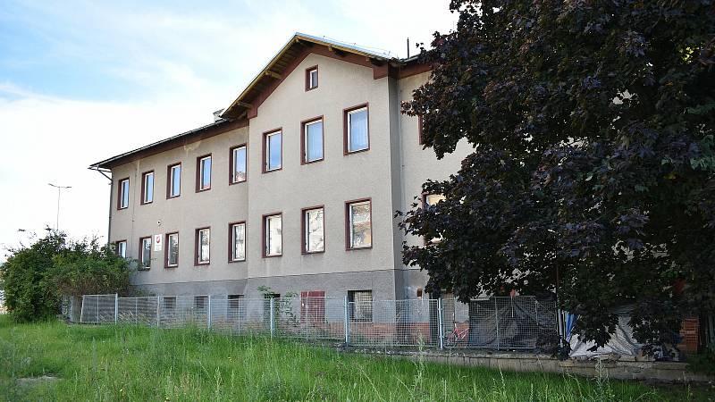 Budova na adrese Jesenická 2 v Šumperku.