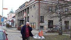 Kino Oko v Šumperku v rekonstrukci
