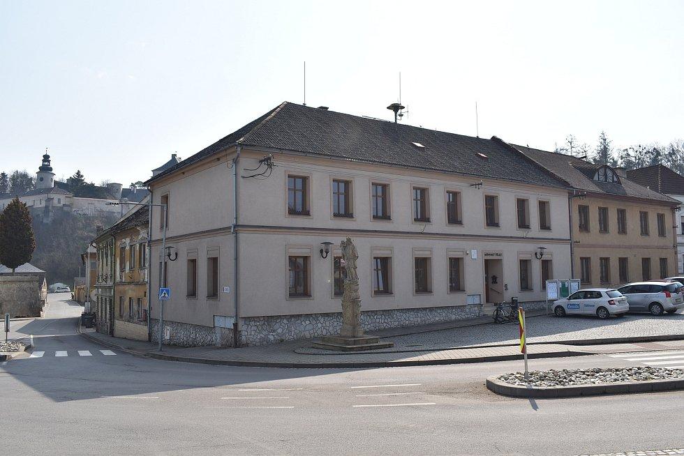 Město Úsov - městský úřad