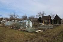Zahrádkářskou kolonii U Sanatoria v Šumperku