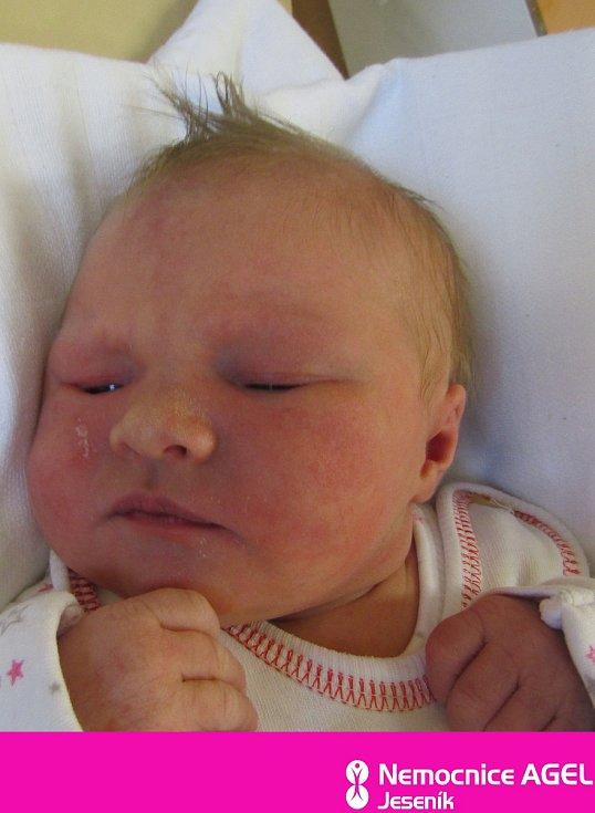 Ester Hupková, Jeseník narozena 25. června 2020
