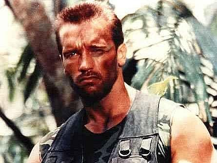 Arnold Schwarzenegger na ilustračním snímku