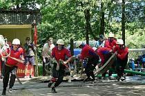 Dolnostudénské hasičky v akci