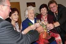 Helena Navrátilová žije v  mohelnickém domě s pečovateskou službou. V neděli oslaví 104.