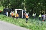 Polský autobus havaroval u Rovenska.