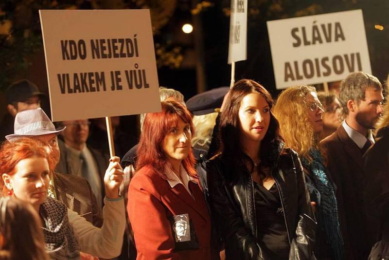 První veřejná produkce nového českého filmu Alois Nebel v Jeseníku