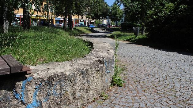 Nejvyužívanější park v Šumperku, Sady 1. máje.