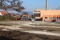 U základní školy Severovýchod vzniká dopravní hřiště.