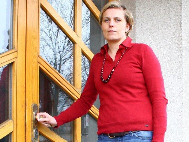 Bývalá vedoucí Správy Chráněnné krajinné oblasti Jeseníky Michaela Pruknerová.
