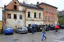 Dům v ulici Generála Svobody 28, který se nachází kousek za hlavní poštou.