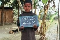 Desetiletého Ajoye Malo z Bangladéše adoptovali školáci ze ZŠ Šumavská v Šumperku