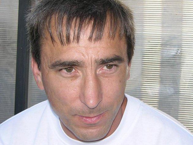 Trenér fotbalistů Sulko Zábřeh Otto Jáně