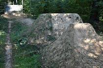 Lesopark Cihelna v Šumperku.