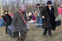 Tradiční závod recesistů Welzlův kufr v Zábřehu.