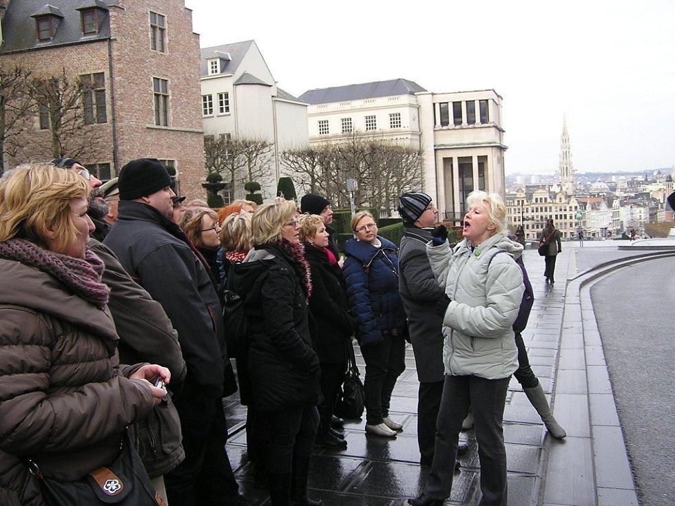 Nadšenci ze Šumperka dovezli Rybovu mši až do Bruselu.