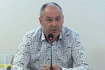 Starosta Mohelnice Pavel Kuba na březnovém zasedání zastupitelstva města.