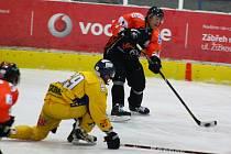 Hokejová příprava: Draci versus Jastrzębie.