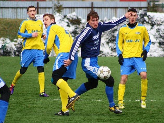 Fotbalová příprava: Šumperk versus Zábřeh.
