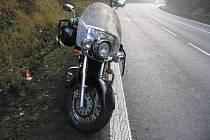 Pětačtyřicetiletý motorkář z Havířova havaroval mezi Mohelnicí a Moravskou Třebovou