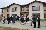Slavnostní otevření komunitního domu pro seniory v Šumperku.