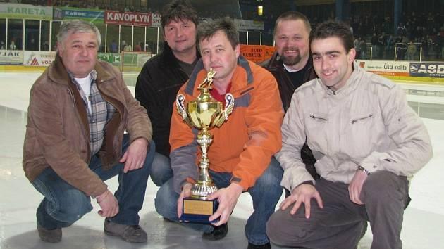 Z vyhlášení výsledků Šumperské amatérské hokejové ligy