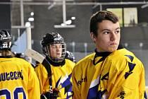 Mladí Draci Šumperk (ve žlutém). Ilustrační foto
