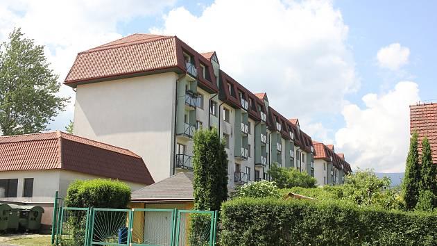 Bytové domy v ulici U Kasáren