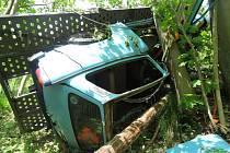 Nehoda u Sobotína