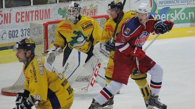 Draci versus Havlíčkův Brod v play out.