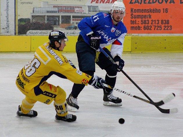 Hokejová příprava: Draci versus Volžsk.