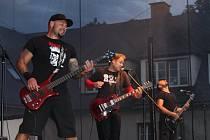 Koncert revivalových kapel v Pavlínině dvoře v Šumperku 25.8.2017.