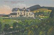 NÁDECH NOSTALGIE.  Původní podoba léčebny připomínala švýcarská sanatoria.
