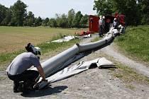 Záchranáři cvičili zásah při ekologické havárii.