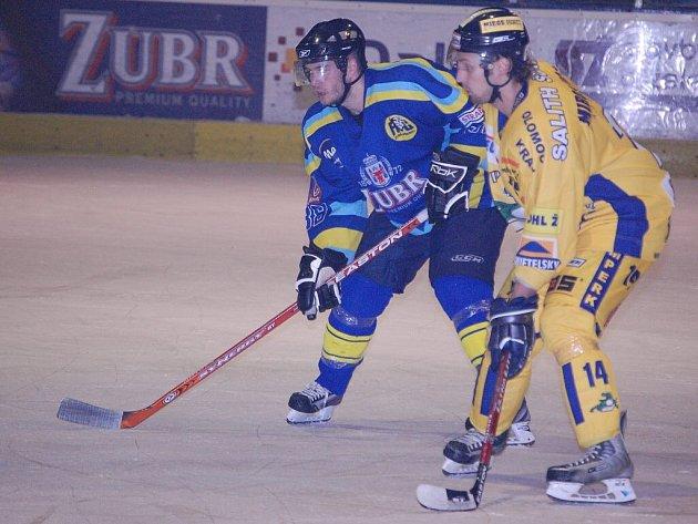 Šumperští hokejisté vezou tři body z Přerova.